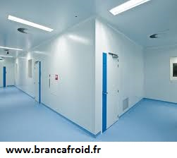 Chambres froides industrielles - salles blanches - hangars